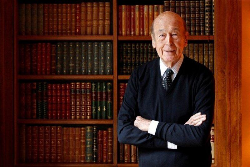 Former French President Valéry Giscard d'Estaing